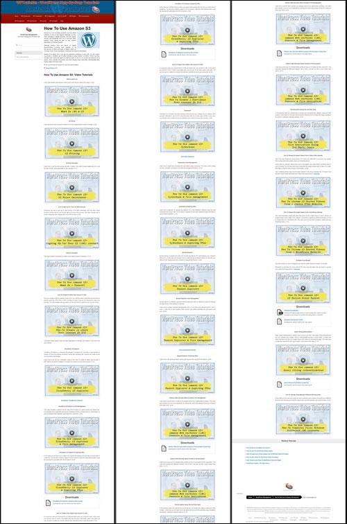 WPTrainMe.com includes hundreds of WordPress video tutorials!