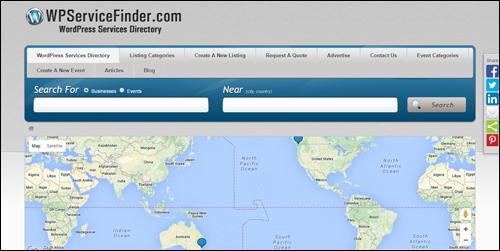 WPServiceFinder.com - WordPress Services Directory